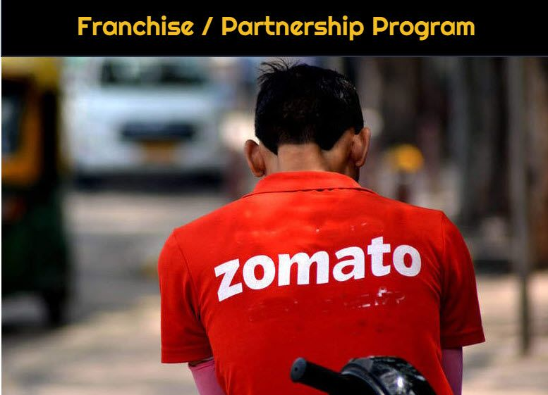 start zomato kitchen franchis