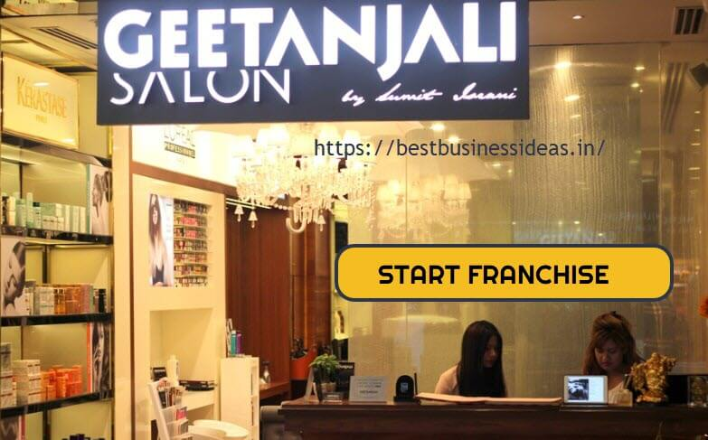 Geetanjali Salon Franchise,COST,CONTACT NUMBER & HOW TO START FRANCHISE