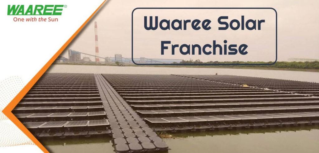waaree solar franchise