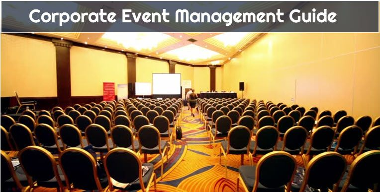 Corporate Event Management & Planning - guide