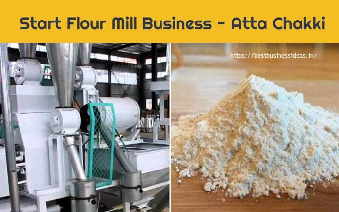 Start Flour Mill Business,Atta Chakki Business in India