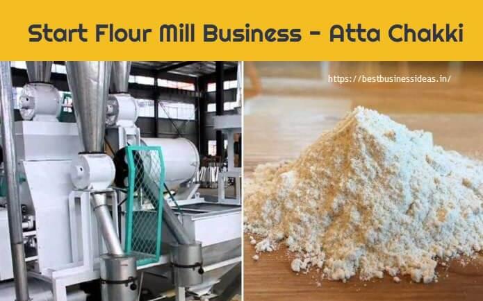Start Flour Mill Business,Atta Chakki Business in India