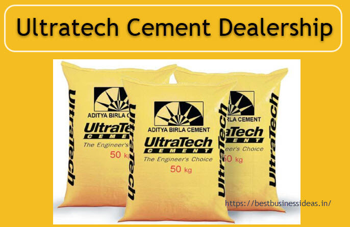 Dealership Of Ultratech Cement and starting guide