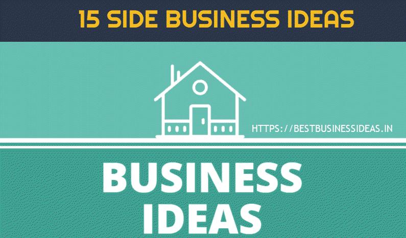 15 Side Business Ideas